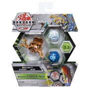 Bakugan Starter Pack 3-Pack, Nillious Ultra, Armored Alliance Collectible Action Figures