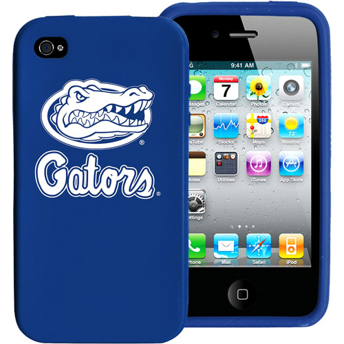 NCAA - Florida Gators iPhone 4 Case: Silicone Cover