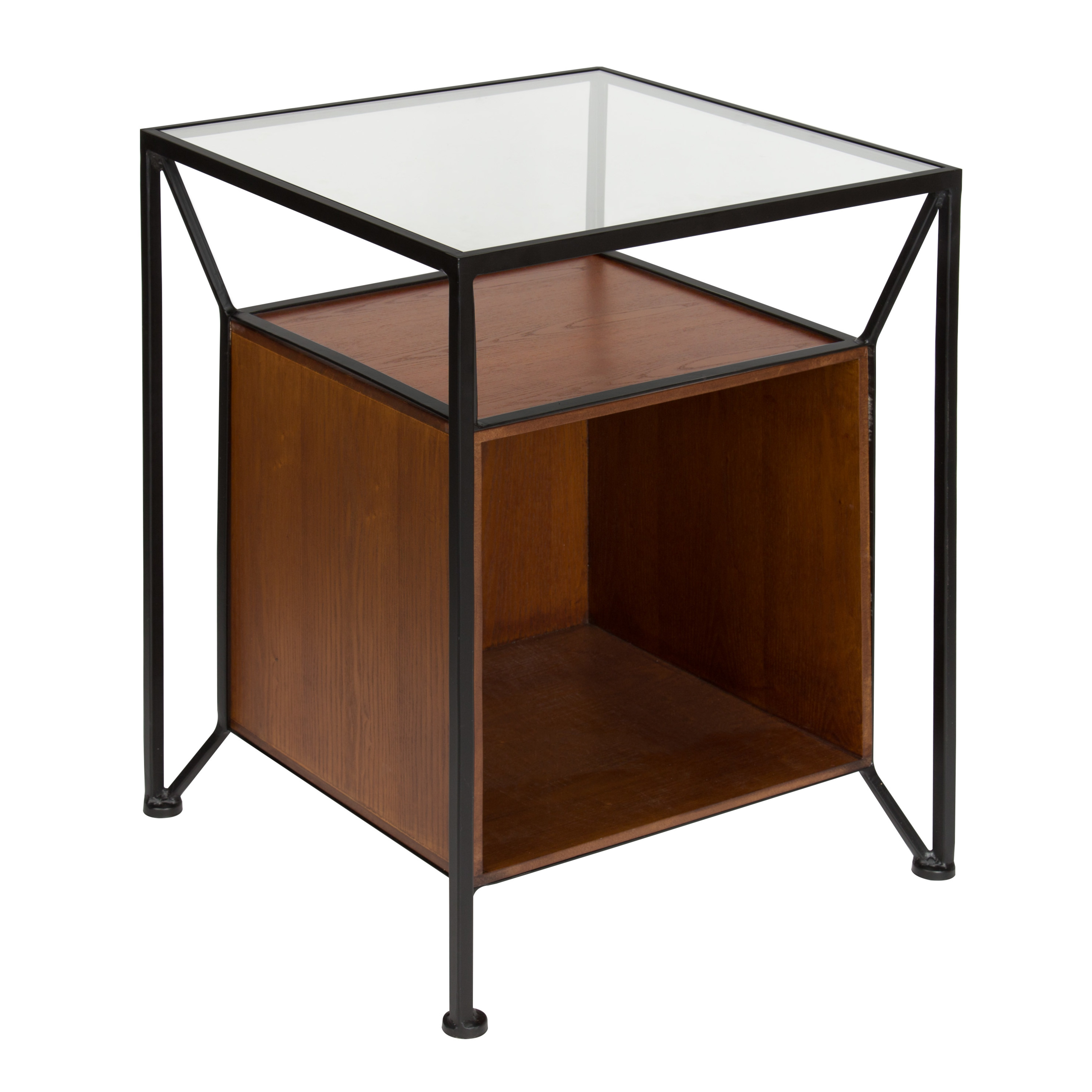 High Quality Kate And Laurel Garrod Record Storage End Table