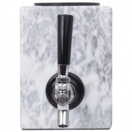 Beverage Bar - Wyndham House Liquor Dispenser with Stainless Steel Tap, Beverage Dispenser Makes a Great Addition to any Home Bar, Polished Marble
