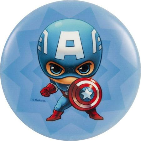 Dynamic Discs Marvel Avengers Dyemax Mini Fuzion Judge Disc Golf Mini Marker Disc Team Up Captain America