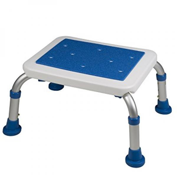 Adjustable Non-Slip Bath Safety Step Stool by