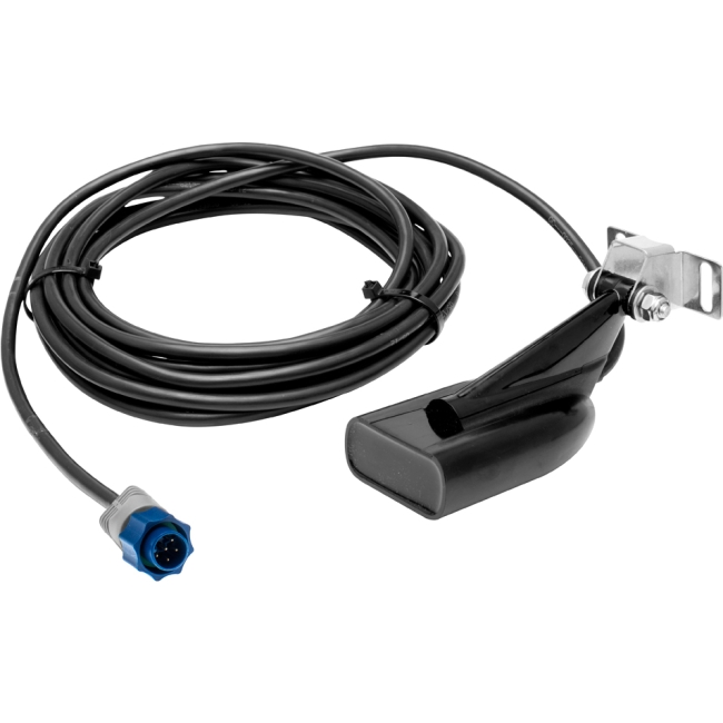 Lowrance New Hybrid Dual Imaging [hdi] Transducer - Transom - Stainless Steel (000-10976-001)