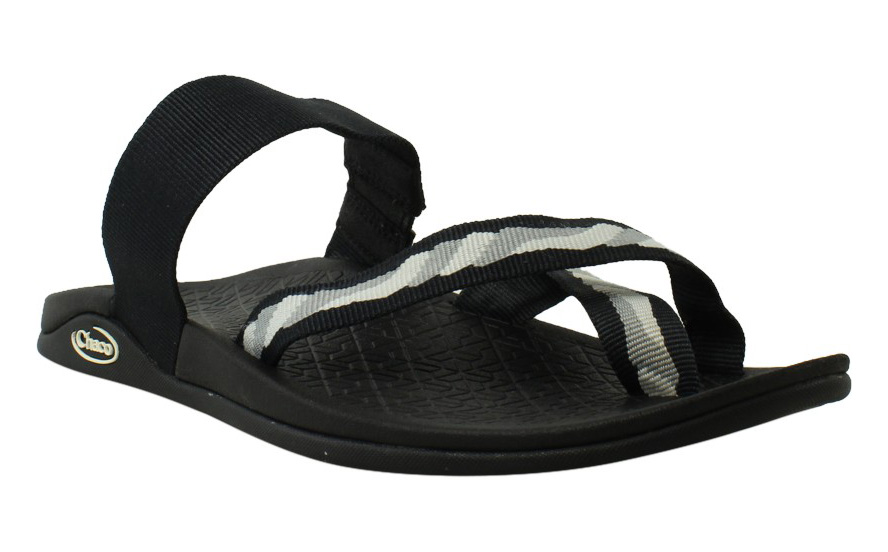 Chaco Womens Black Slides Sandals Size 7 New by Chaco