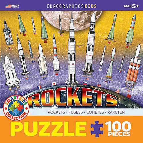 EuroGraphics Rockets 100-Piece Puzzle