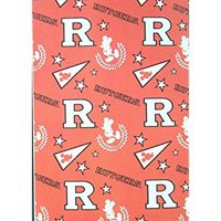"""Officially Licensed NCAA Rutgers Scarlet Knights 50""""X60"""" Mickey Mouse Character Fleece Throw"""