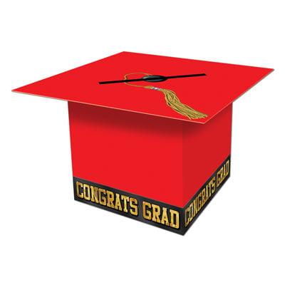 Grad Cap Card Box Black