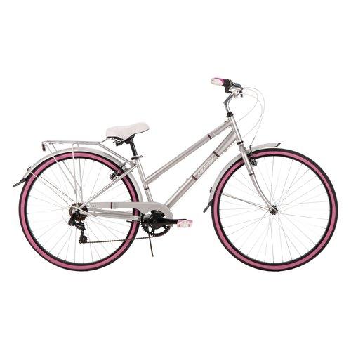 Bicicleta Para Adulto Mujeres Huffy de 700 C39; s bici del crucero de Norwood, gris + Huffy en Veo y Compro