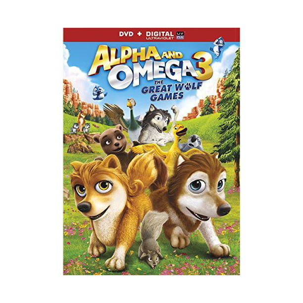 Alpha and Omega 3: The Great Wolf Games (DVD)