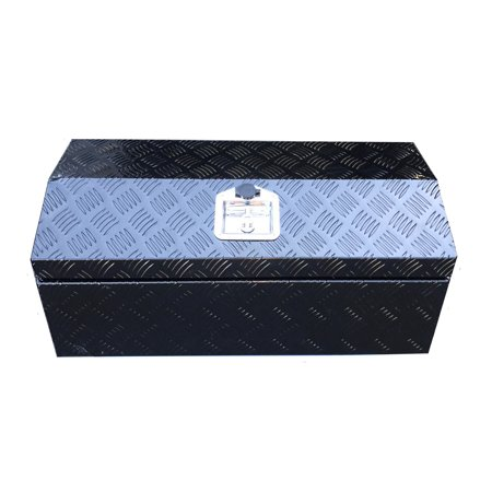 Brait 30-inch Aluminum Tool Box Durable Black powder coated Black Powder Coated Chevy