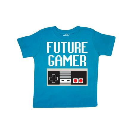 Future Gamer. Toddler T-Shirt (Girl Gamer)