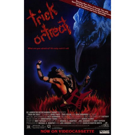 No Trick Treat Poster (Trick or Treat (1986) 11x17 Movie Poster )
