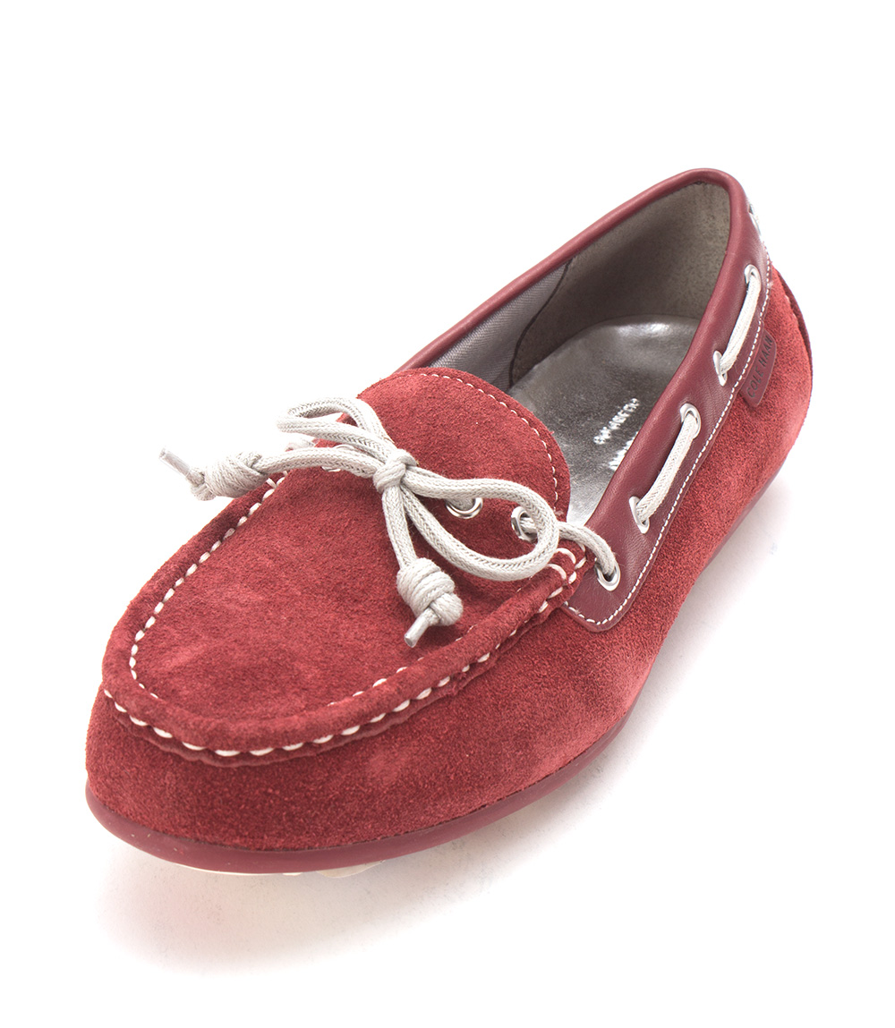 Cole Haan Womens D43379 Suede Closed Toe Boat Shoes, Electra, Size 6.0