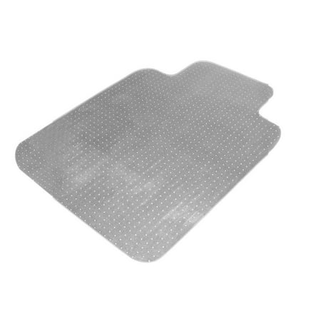 PVC Home Chair Floor Mat Studded Back With Lip For Standard Pile Carpet Prote