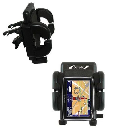 Gomadic Air Vent Clip Based Cradle Holder Car / Auto Mount suitable for the TomTom XL 350 - Lifetime Warranty