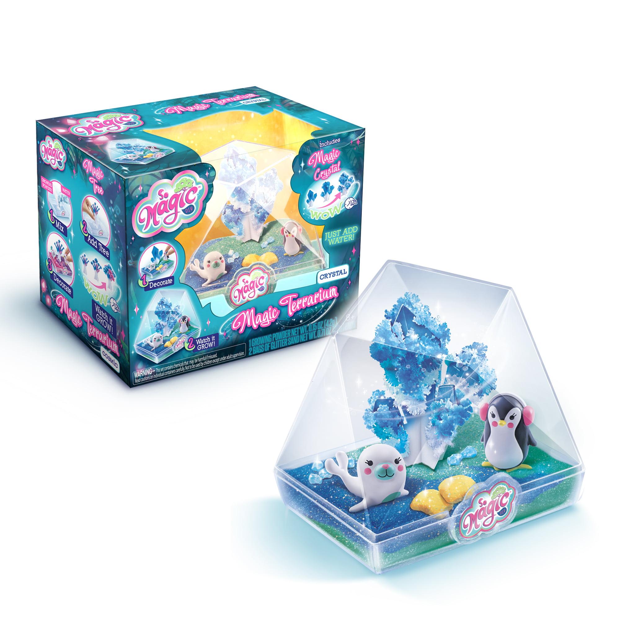 So Magic Diy Medium Magic Terrarium Kit Crystal Edition Walmart Com Walmart Com