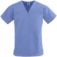 bd196d21114 Free shipping on orders over $35. Product Image Unisex ComfortEase Ladies  V-Neck Two-Pocket Scrub Top
