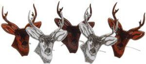 Deer Head Eyelet Outlet Brads