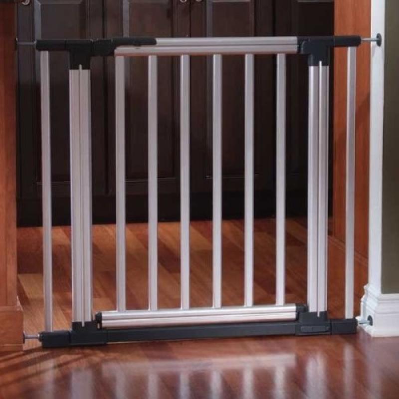 Kidco G170-5.5 Metro Gateway Pressure Mounted Extension Aluminum 5.5in