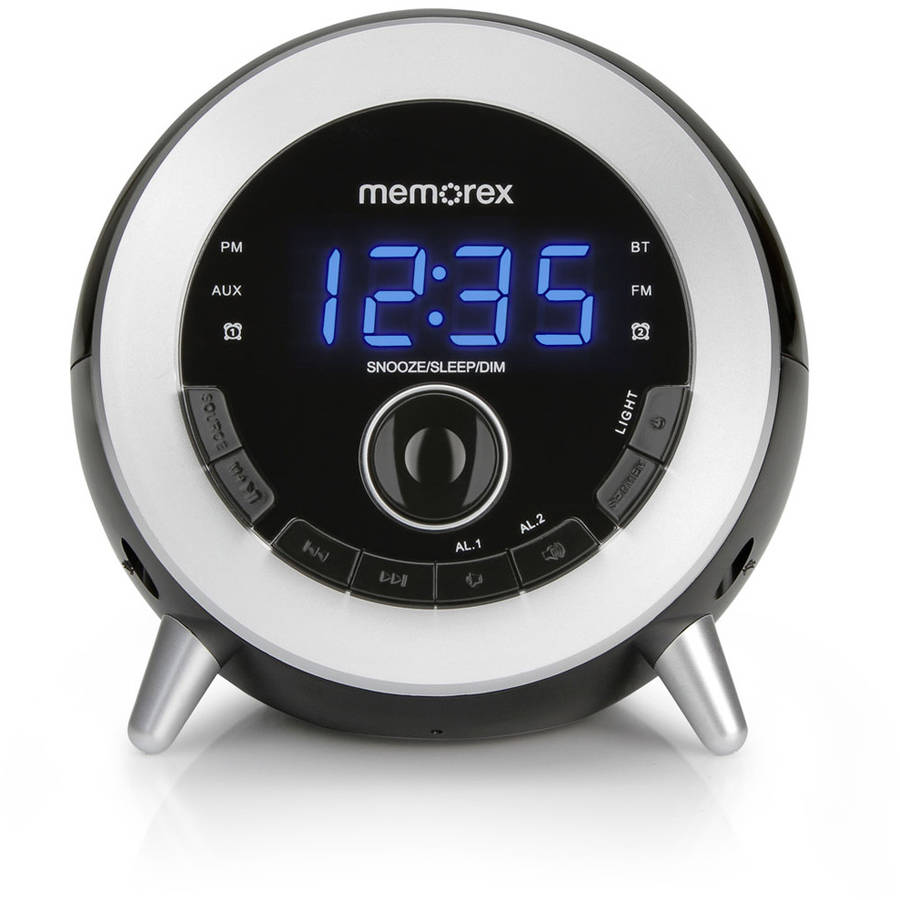 Memorex Bluetooth Clock Radio