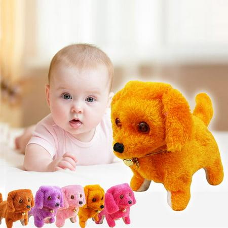 Music Light Cute Robotic Electronic Walking Pet Dog Puppy Kids Toy Bw