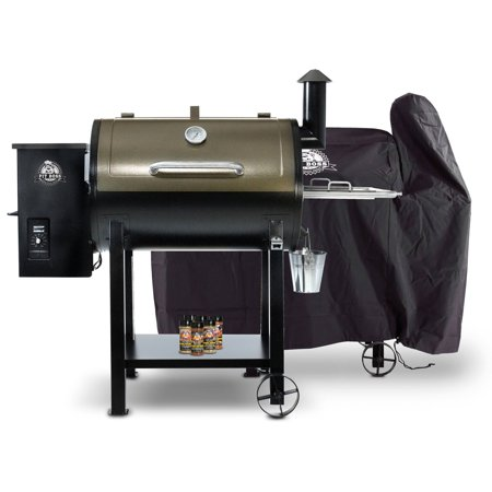 Pit Boss 820D Wood Pellet Grill with Cover and Spice Pack