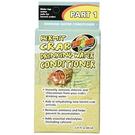 Halloween Hermit Crab Care (zoo med laboratories szmhc90 hermit crab drinking water conditioner 2.25 fl.)