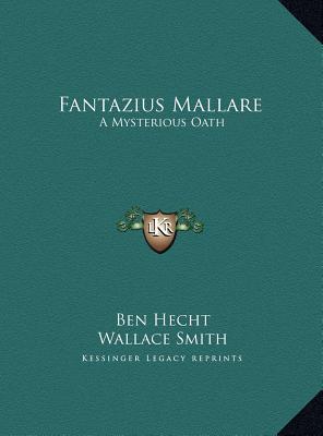 Fantazius Mallare & the Dark Eidolon