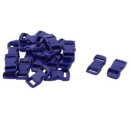 Backpack Bag Plastic Strap Belt Adjustive Quick Release Buckle Dark Blue 20 (Navy Blue Strap)