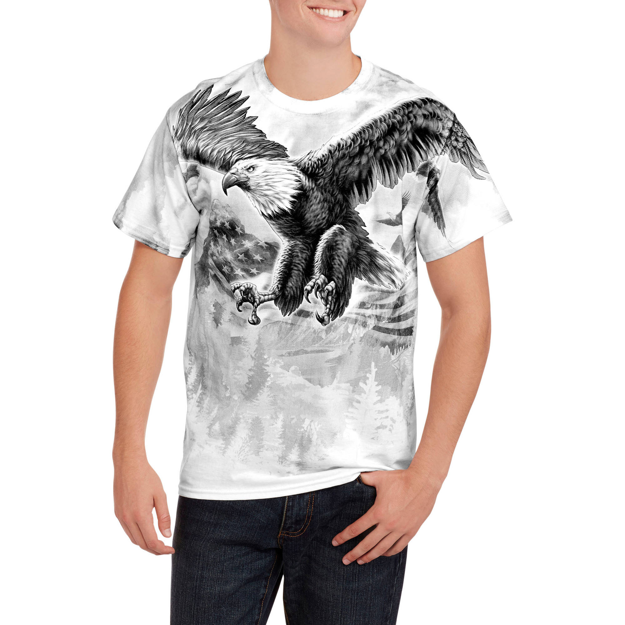 Fly Eagle Men's Graphic Tee