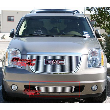 Compatible with 2007-2014 GMC Yukon Bumper Vertical Perimeter Grille Grill Insert G95780V