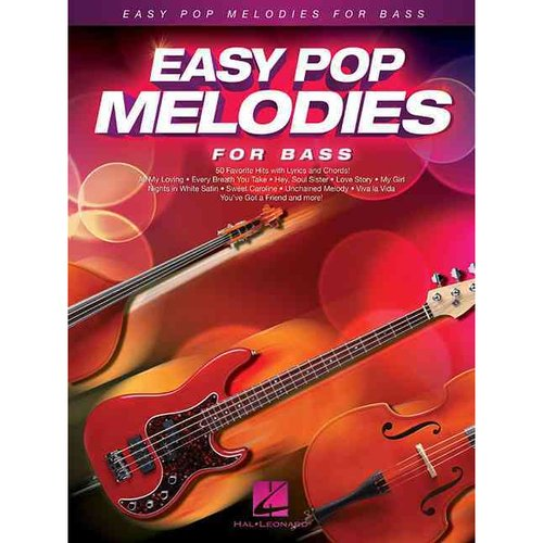 Easy Pop Melodies for Bass