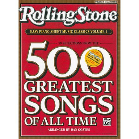 Harmonica Song Sheets - Rolling Stone Easy Piano Sheet Music Classics, Volume 1 : 39 Selections from the 500 Greatest Songs of All Time