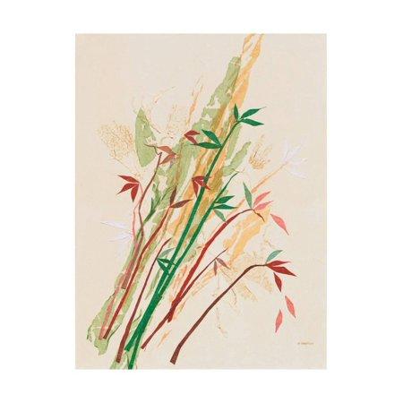 - Post Modern Bamboo Print Wall Art By Jan Sullivan Fowler