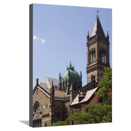 The New Old South Church, Copley Square, Back Bay, Boston, Massachusetts, USA Stretched Canvas Print Wall Art By Amanda Hall