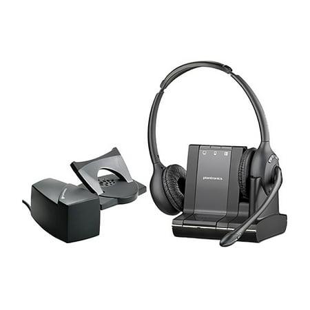 803492d096e Plantronics Savi W720-M Stereo Wireless Headset With Lifter (Microsoft  Optimized) - Walmart.com