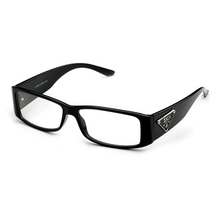 Thick Clear Frames Fashion Glasses for Men and Women - Walmart.com