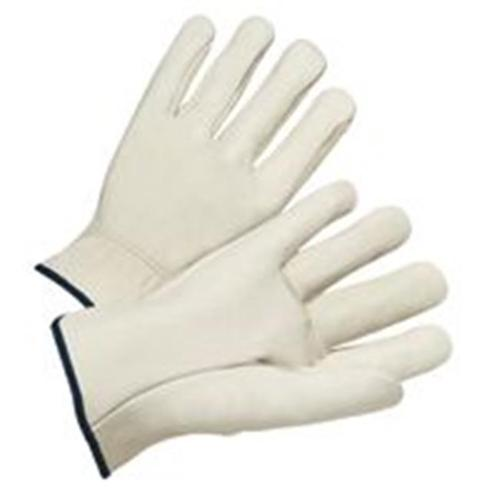 Anchor Brand 101-4000S Anchor 6120S Leather Drivers Gloves Elastic Bk
