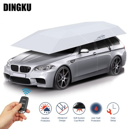 158 83 Automatic Semi Automatic Car Tent Movable Carport Folded