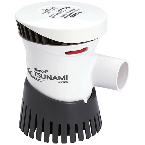 Tsunami 1200 GPH Cartridge Bilge Pump, 12VDC by ATTWOOD MARINE