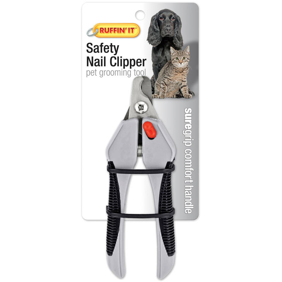 Soft Grip Safety Nail Clipper For Dogs and Cats