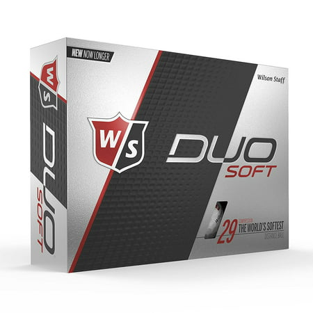Wilson Staff Duo Soft Golf Balls, 12 Pack (Kansas Golf Ball)
