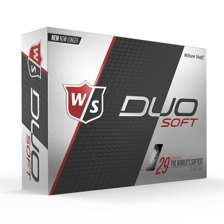 Wilson Staff Duo Soft Golf Balls, 12 Pack](Light Golf Balls)