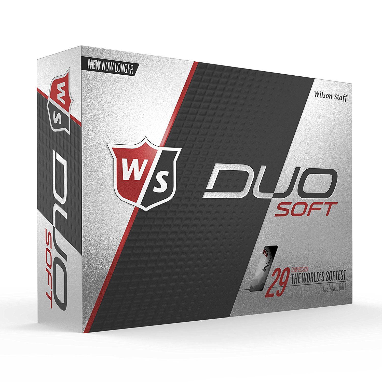Wilson Staff Duo Soft Golf Balls, 12 Pack