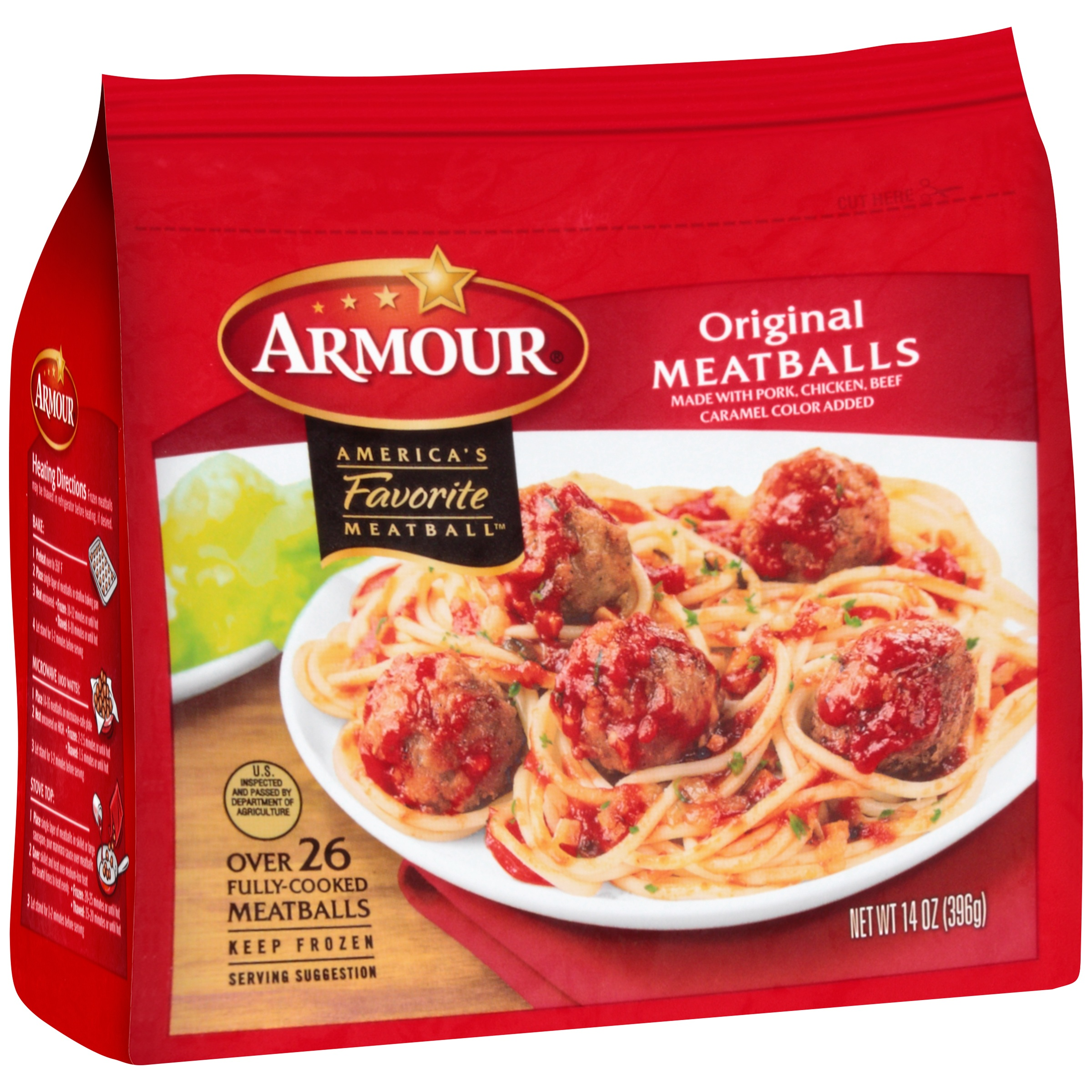 Armour® Original Meatballs 14 oz. Bag