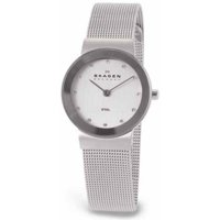 Skagen 358SSSD Mesh Crystallized Women's Quartz Watch
