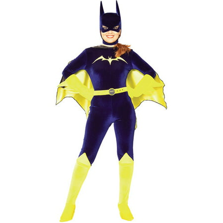 Batgirl Gotham Girls Adult Halloween Costume - Adult Saloon Girl Costume