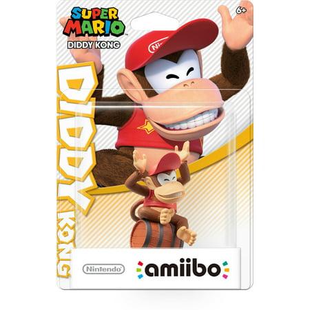 Diddy Kong Super Mario Bros Series Amiibo  Wii U