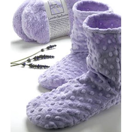 - Lavender Dot Spa Booties Sonoma Lavender (Lavender Spa Booties)