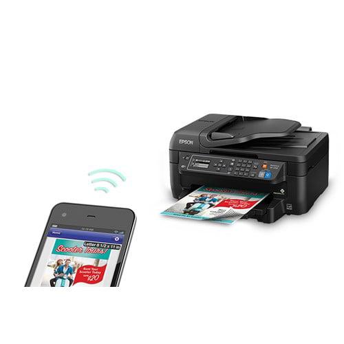 Epson WorkForce WF-2750 All-in-One Wireless Color Printer/Copier